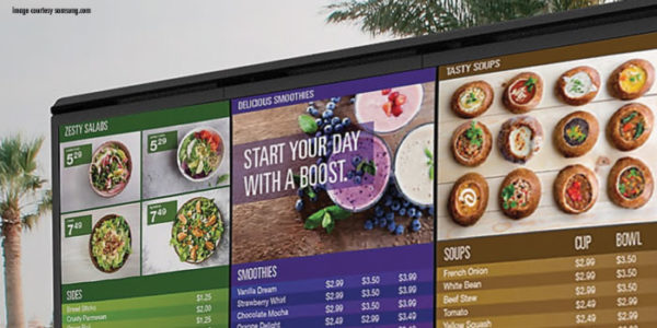 How Digital Menu Boards Boost Drive-Thru Sales and Efficiency